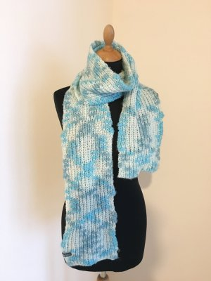Barts Scarf baby blue-white