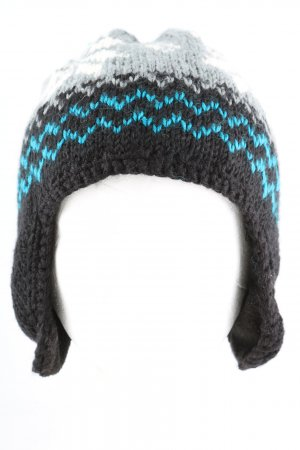 Barts Knitted Hat graphic pattern casual look