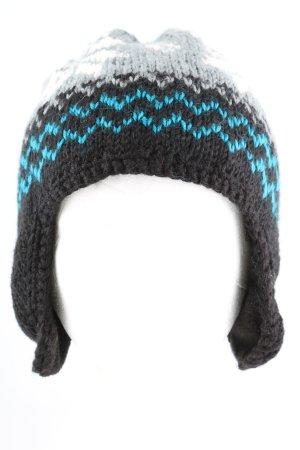Barts Cappello a maglia motivo grafico stile casual