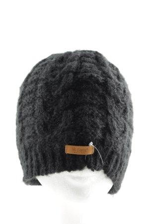 Barts Cappello a maglia nero puntinato stile casual