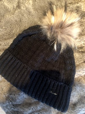 Barts Knitted Hat black-light brown