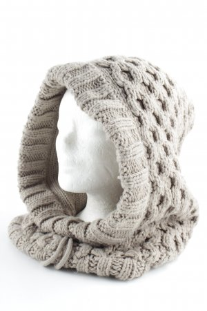 Barts Knitted Scarf grey casual look