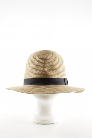 Barts Straw Hat cream-black elegant