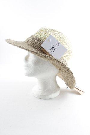 Barts Straw Hat beige-cream color gradient beach look