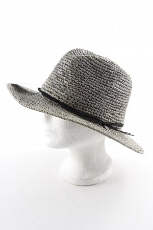 Barts Straw Hat sage green-black flecked beach look