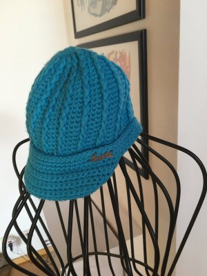 Barts Knitted Hat multicolored wool