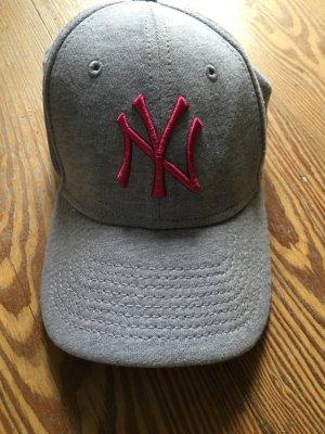 Baseball Cap New York Yankees - unisex, grau mit pink