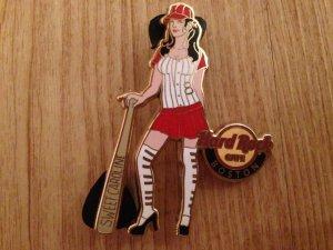 Baseball Pin Hard Rock Cafe