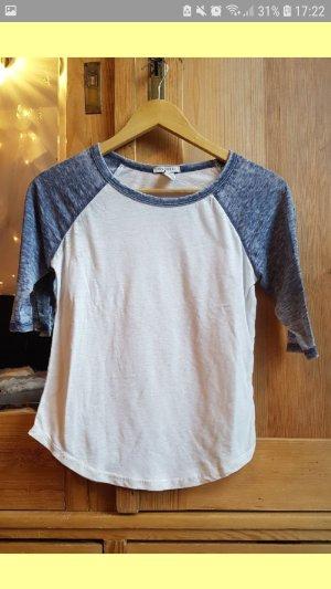 Forever 21 Camiseta gris-blanco puro