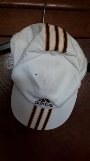 Adidas Baseball Cap white cotton