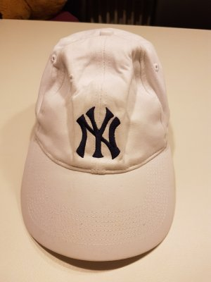 Basecap in Weiß NY Yankees