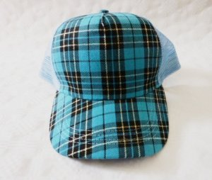 Basecap Meshcap Truckercap blau-türkis