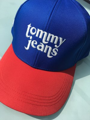 Tommy Jeans Baseball Cap blue-dark red