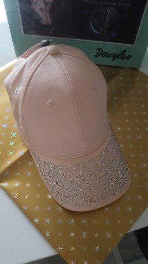 New Look Gorra de béisbol rosa-rosa claro