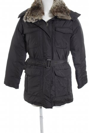 Basefield Down Jacket black classic style