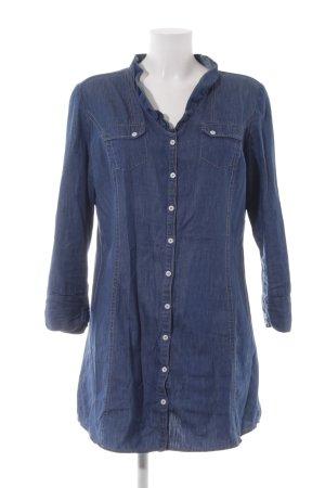 Basefield Vestido vaquero azul look Street-Style