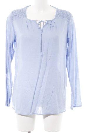 Basefield Long Sleeve Blouse blue casual look