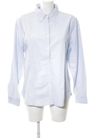 Basefield Langarmhemd blau Business-Look