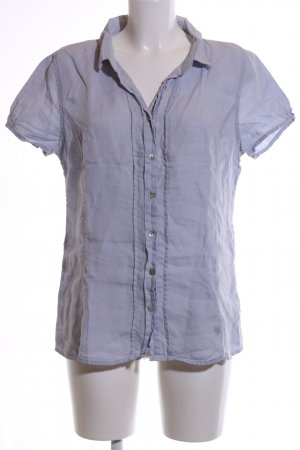 Basefield Linen Blouse blue casual look