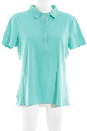 Basefield Polo Shirt turquoise casual look