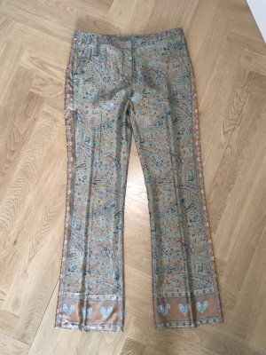 Ba&sh Pantalon en jersey kaki-marron clair
