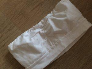 Basic Bandeau Top zum Drunterziehen in weiß von Gina Tricot Gr. M in weiß