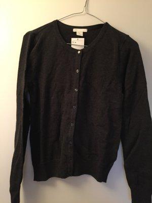 Basic Cardigan in schwarz und dunkelgrau :)