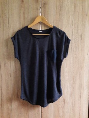 Basic Casual Shirt blau Gr. S