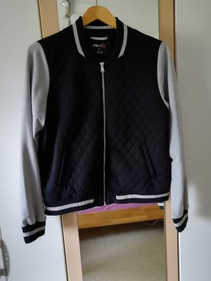 Fishbone College Jacket black-grey