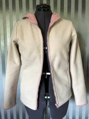 Fleece Jackets natural white-pink