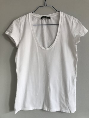 Basic-Halbarm-T-Shirt Top von Hallhuber