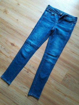 Zara Jeans elasticizzati blu fiordaliso