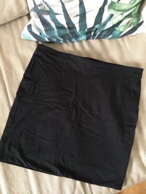 H&M Conscious Collection Falda de talle alto negro
