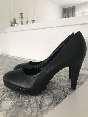 basic klassisch schicke pumps in schwarz