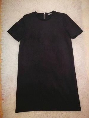 Zara Leren jurk zwart Imitatie leer