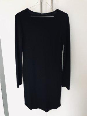 Basic Kleid Langarm Ripp