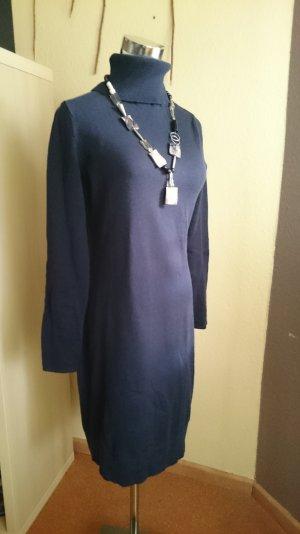 Basic Kleid Marine dunkelblau