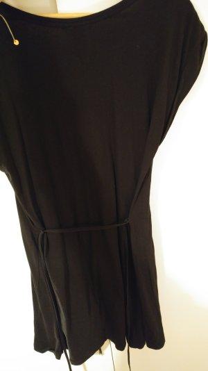 Basic Kleid mit Gürtel