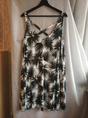 Basic Kleid mit Palmenmuster NEU