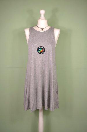 Basic Kleid von H&M in Grau Meliert
