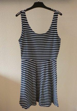 """Basic-Kleid von """" Only """", blau-weiß, gestfreift, Gr. M"""