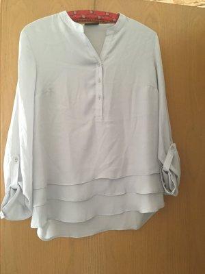 Basic langärmelige Bluse