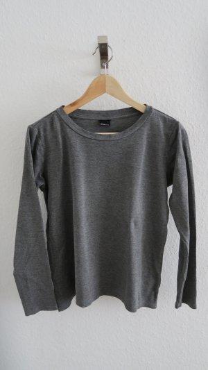Basic Langarm Shirt dünner Pullover Gr. S