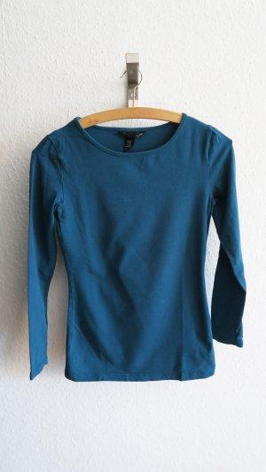 Basic Langarm Shirt Rundhals 34/36