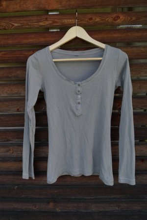 Basic Langarmshirt H&M S