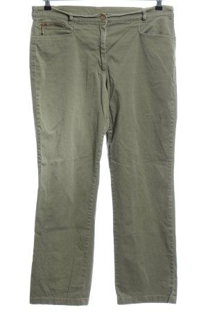 Basic Line Jersey Pants khaki casual look