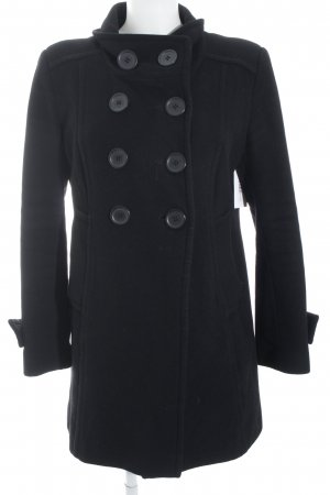 Basic Line Winter Coat black casual look