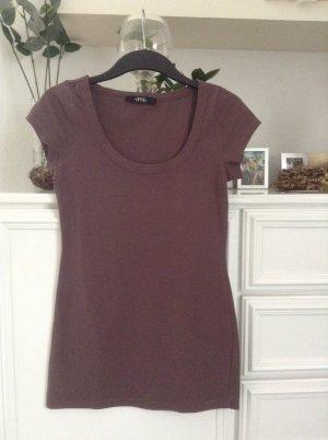 Basic-Longshirt / braun / Gr. 34 XS / Melrose