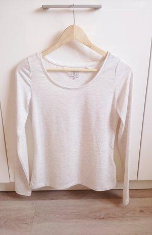 Basic Longsleeve Shirt beige Gr. M