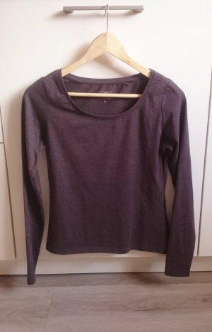 Basic Longsleeve Shirt braun Gr. M